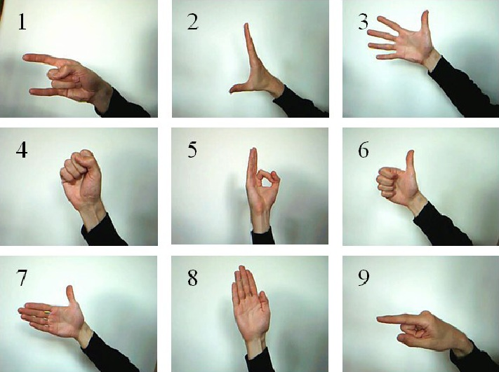 Hand Gesture Recognition Using Neural Networks